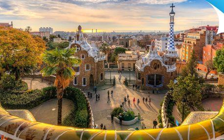 Letecky do Barcelony: 4-dňový poznávací zájazd