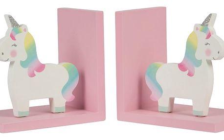 Sada 2 knižních záložek Sass & Belle Rainbow Unicorn