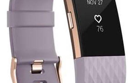 Fitbit Charge 2 large - Lavender Rose Gold (FB407RGLVL-EU)