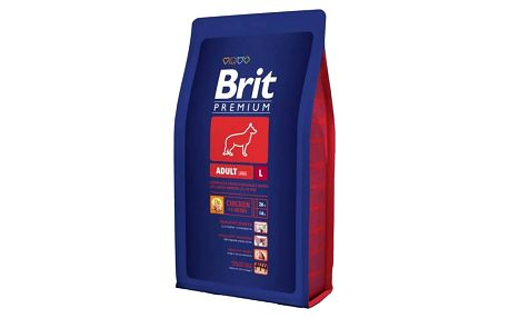 Brit Premium Dog Adult L 8 kg