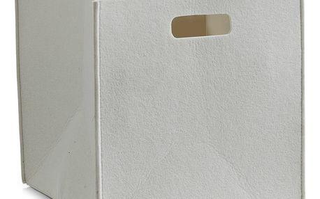 Koš na uskladňování, čtvercový, plstěný - kontejner 33 l, ZELLER