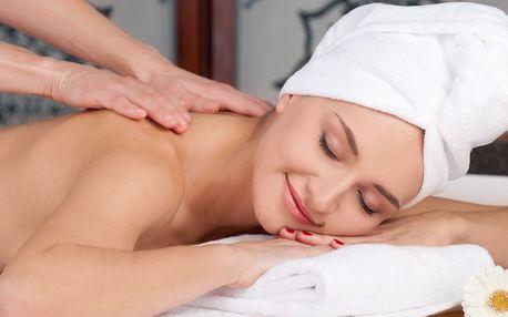 Blaho pro tělo: masáž zad a šíje či celková masáž