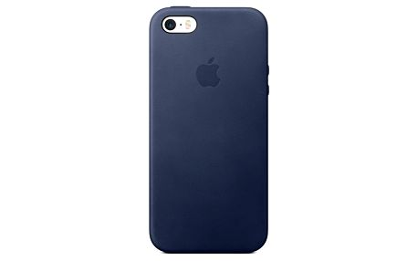 Kryt na mobil Apple Leather Case pro iPhone 5/5s/SE - Midnight Blue (mmhg2zm/a)