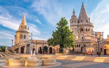 3–4denní pobyt pro 2 se snídaněmi v hotelu Benczur v Budapešti