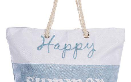 Fashion Icon Plážová taška Happy summer time