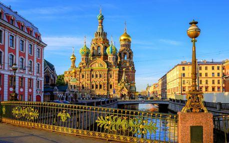Úžasný Petrohrad a Pobaltské republiky