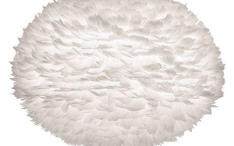 Bílé stínidlo z husího peří VITA Copenhagen EOS, Ø65cm
