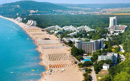 Bulharsko, Slunečné pobřeží - Hotel TIA MARIA***, 300m od pláže s polopenzí nebo all inclusive
