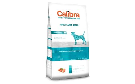 Calibra Dog Hypoallergenic Adult Large Breed Chicken 14 kg