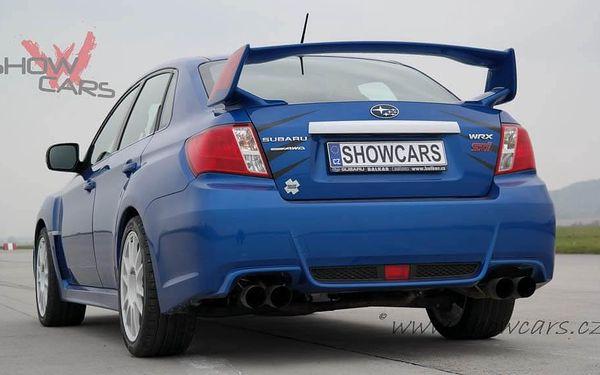 Jízda v Subaru Impreza WRX STI 60 min. bez pohonných hmot2
