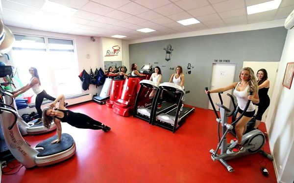 Sálón VIP masáže ve Fitness Red Fit