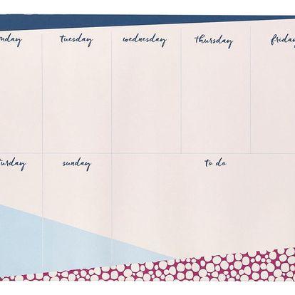 Týdenní plánovač Busy B Contemporary,60 listů