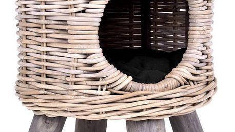 Ratanový domeček pro kočku Ego Dekor Nature