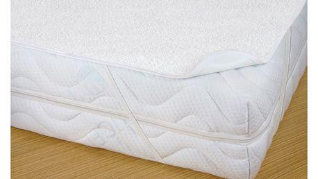 Bellatex chránič matrace s PVC zátěrem, nepropustný, 160 x 200 cm