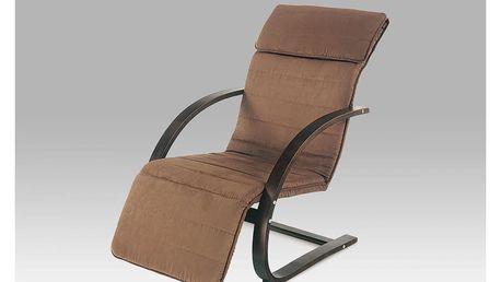 Relax. křeslo tm. hnědá / potah hnědý QR-31 BR Autronic