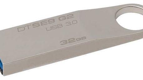 Kingston DataTraveler SE9 G2 32GB (DTSE9G2/32GB) kovový