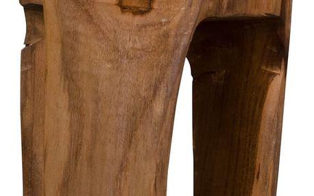 Stolička z teakového dřeva House Nordic Rose