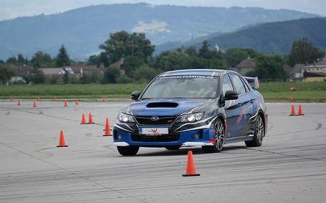 Staňte se na cca 20 min. rallye závodníkem v Subaru Impreza