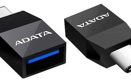Redukce ADATA USB 3.1 / USB-C černá (ACAF3PL-ADP-RBK)