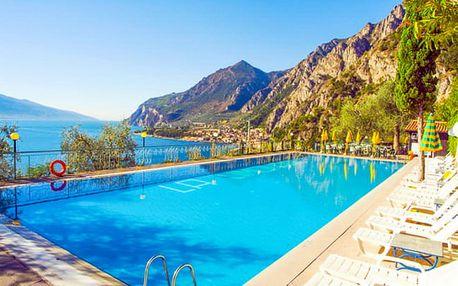 Lago di Garda s polopenzí a bazénem