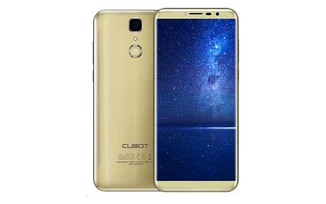 CUBOT X18 Dual SIM (PH3639) zlatý