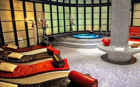 Božské wellness hýčkání ve 4* Hotelu Morris Česká Lípa se zábaly, soláriem a polopenzí
