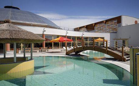 Gotthard Therme Hotel**** s polopenzí a venkovním aquaparkem