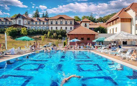 Maďarsko, Eger - hotel v krásné přírodě s neomezeným wellness a polopenzí