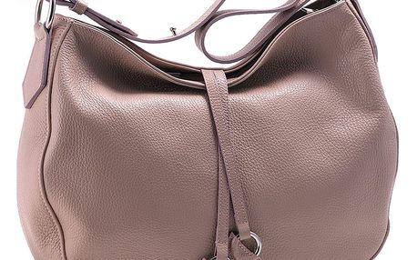 Růžová kabelka z pravé kůže Andrea Cardone Tarilo