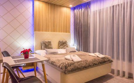 Luxusní apartmány*** ve Vysokých Tatrách pro dva včetně stravy