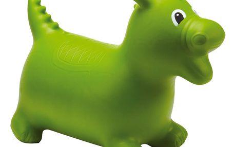 Skákací dinosaurus, zelená