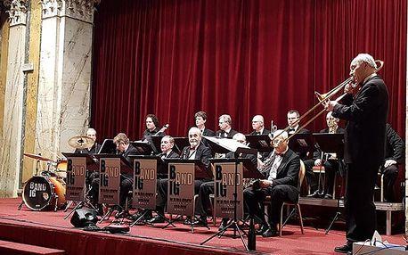 Koncert jazzových legend v podání Big Band orchestru v Českém muzeu hudby v Praze