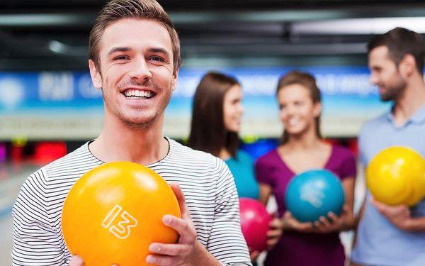 1 hodina bowlingu až pro šest hráčů