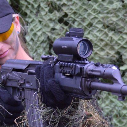 Střelba na střelnici: až 12 zbraní vč. nábojů