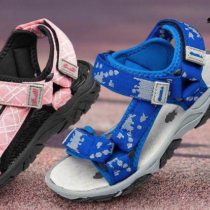 Na výlet i do školy: Dětské sandály značky Nell