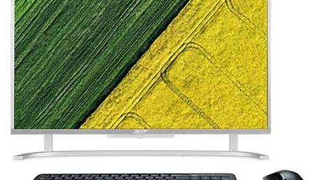 Počítač All In One Acer AC22-720 (DQ.B7CEC.001) stříbrný + DOPRAVA ZDARMA