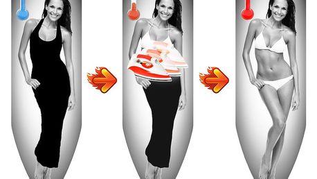 Potah na žehlící prkno s termoefektem Colombo New Scal Magique Woman, 130x50cm