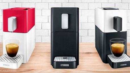 Kapslové kávovary Cremesso: malé, tiché, výkonné