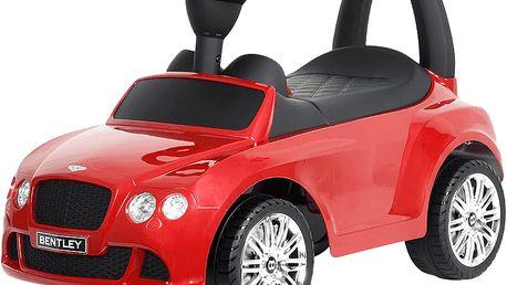 BUDDY TOYS Odrážedlo Bentley červené