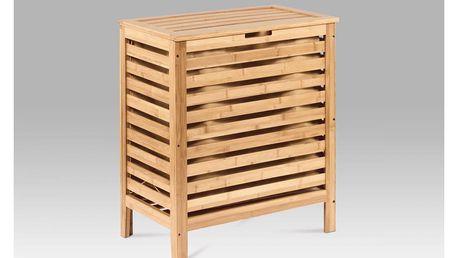 Koš na prádlo, lakovaný bambus DR-014 Autronic