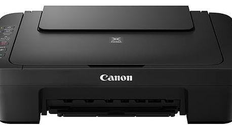 Tiskárna multifunkční Canon PIXMA MG3050 černá (A4, 8str./min, 4str./min, 4800 x 600, duplex, WF, USB) + dárek (1346C006)