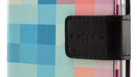 Pouzdro na mobil flipové FIXED Opus pro Samsung Galaxy J3 (2017) - dice (FIXOP-166-DI)