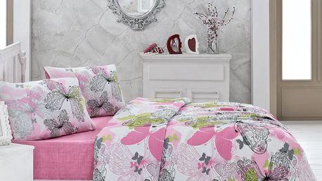 Přehoz přes postel na dvoulůžko Belinda Butterfly, 200 x 230 cm