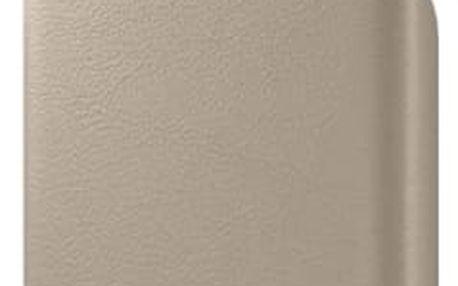 Kryt na mobil Samsung pro Galaxy S7 Edge kožené ( EF-VG935LU) béžový (EF-VG935LUEGWW)