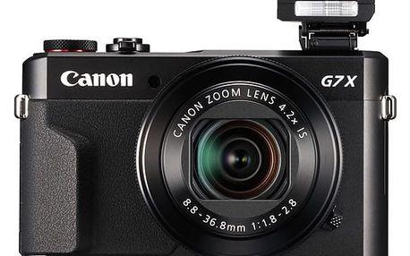 Digitální fotoaparát Canon PowerShot G7X Mark II černý (1066C002)