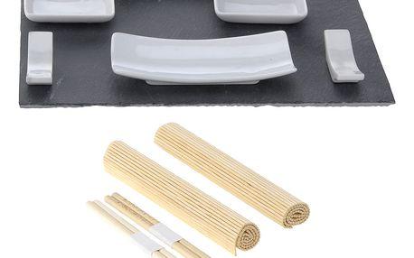Souprava pro občerstvení, dresinky a předkrmy, sushi - 11 dílů EH Excellent Houseware