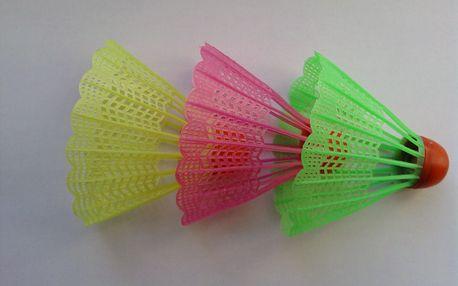 Badmintonové sety v různých barvách, možný osobní odběr
