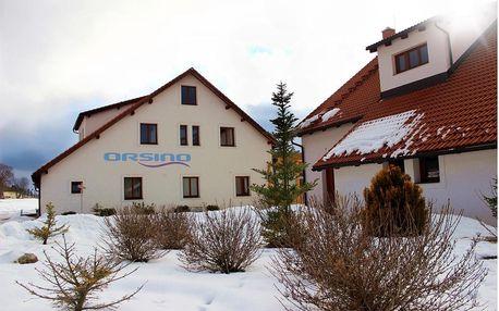 V blízkosti přehrady Lipno v luxusním hotelu Orsino
