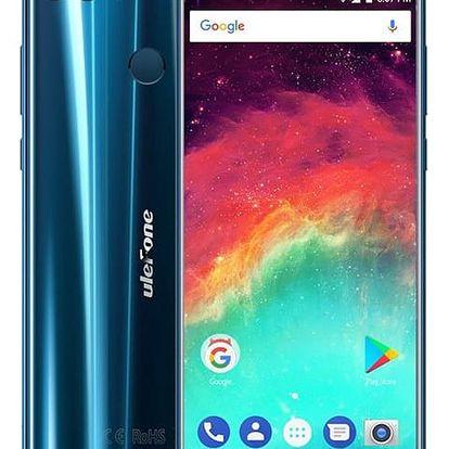 Mobilní telefon UleFone MIX 2 Dual SIM (6937748731474) modrý Software F-Secure SAFE, 3 zařízení / 6 měsíců v hodnotě 979 Kč + DOPRAVA ZDARMA