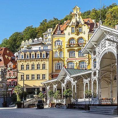 3denní luxusní pobyt pro 2 dámy ve Wellness hotelu Green Paradise**** v Karlových Varech